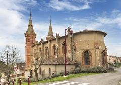 Nouvelle église - English:   Saint-Rustice, St. Peter church - Apse