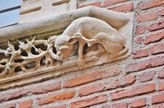Hôtel dit de Cheverry - Français:   Détail d'une fenêtre gothique de l'hôtel de Boysson-Cheverry à Toulouse (fin XVème siècle).