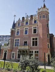 Maison des Verrières ou Castel-Gesta - Français:   Le Château des Verrières ou Castel-Gesta, 1862, Toulouse.