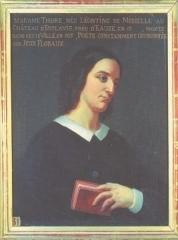 Hôtel de ville - Français:   Portrait de Léontine de Mibielle, épouse Thore, salle des illustres, mairie de la ville d'Auch.