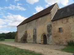 Ancien prieuré grandmontain de Fontblanche - Deutsch:   Grandmontine Priory Fontblanche, comm. Genouilly, Département Cher, France, north side
