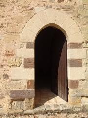 Ancien prieuré grandmontain de Fontblanche - Deutsch:   Grandmontine Priory Fontblanche, comm. Genouilly, Département Cher, France, south entrance of church
