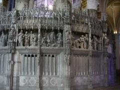 Cathédrale Notre-Dame - Français:   Tour de chœur de la cathédrale Notre-Dame de Chartres (Eure-et-Loir, France)
