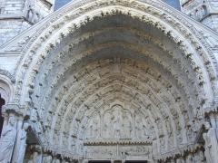 Cathédrale Notre-Dame - Français:   Transept nord de la cathédrale Notre-Dame de Chartres (Eure-et-Loir, France)