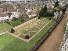 Ancien évêché et ses jardins, actuellement Musée des Beaux-Arts - Français:   Jardins de l'Évêché, Chartres.