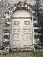 Ancien évêché et ses jardins, actuellement Musée des Beaux-Arts - Français:   Une porte dans les jardins de l'Évêché, Chartres.