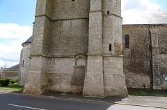 Eglise Saint-Pierre - Français:   Base nord de la tour-clocher, église Saint-Pierre de Cormainville, Eure-et-Loir, France.