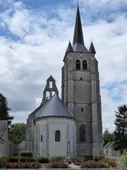 Eglise Saint-Pierre - Français:   Ensemble est, église Saint-Pierre de Cormainville, Eure-et-Loir, France.