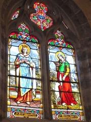 Eglise Saint-Denis - Français:   Vitrail