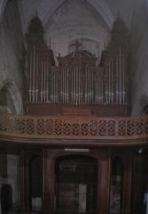 Eglise paroissiale Saint-Symphorien - Français:   L'orgue construit par Louis Debierre entre 1885 et 1887.