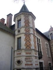 Hôtel Groslot, actuellement Hôtel de ville - Français:   Hôtel Groslot, vu depuis ses jardins, à Orléans (Loiret, France)