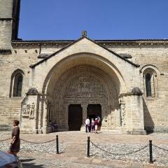 Ancienne abbaye - Français:   Abbatiale Saint-Pierre de Beaulieu-sur-Dordogne