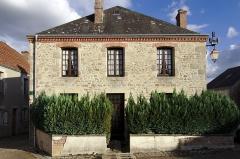 Château de Crozant - Français:   Au centre bourg de Glénic, près de l'église classée monument historique