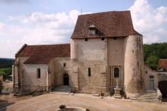 Château de Crozant - Français:   Église de Glénic en Creuse