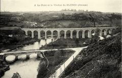 Château de Crozant - Français:   Le pont et le viaduc