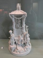 Musée national Adrien Dubouché et Ecole des Arts Décoratifs -  limoges_porcelain_museum_adrien_dubouche_allegory_4_continents_18th