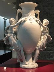 Musée national Adrien Dubouché et Ecole des Arts Décoratifs -  limoges_porcelain_museum_adrien_dubouche_bacchants_vase_thabard_1870