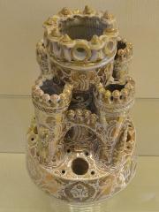 Musée national Adrien Dubouché et Ecole des Arts Décoratifs -  limoges_porcelain_museum_adrien_dubouche_castelet_medieval_manises_spain_16th