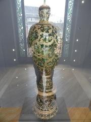 Musée national Adrien Dubouché et Ecole des Arts Décoratifs -  limoges_porcelain_museum_adrien_dubouche_moser_karlsbad_vase_1889