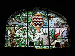 Musée national Adrien Dubouché et Ecole des Arts Décoratifs -  limoges_porcelain_museum_adrien_dubouche_stained_glass_rochechouart