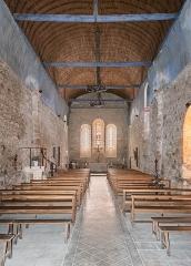 Eglise Saint-Léger - English:   Interior of the Saint Leodegar church in Saint-Léger-Magnazeix