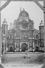 Collège de la Ville - Français:   sur une carte postale conservé à Reims.