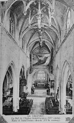 Eglise Saint-Jacques - Français:   issu d\'une carte postale conservée à R>eims.