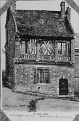 Ancien presbytère - Français:   issu d\'une carte postale conservée à R>eims.