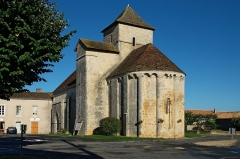 Eglise Saint-Jean-Baptiste - English:   eastern aspect of village church