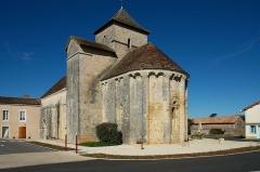 Eglise Saint-Jean-Baptiste - Français:   Église Saint-Jean-Baptiste de Limalonges