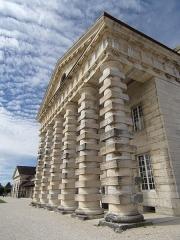 Ancienne saline royale, actuellement Fondation Claude-Nicolas Ledoux - Français:   Saline royale d'Arc-et-Senans, maison du directeur