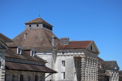 Ancienne saline royale, actuellement Fondation Claude-Nicolas Ledoux - Français:   Maison du directeur de la Saline Royale d'Arc-et-Senans (39).