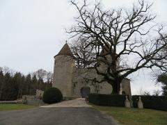 Château d'Andelot - Français:   Vue de l'entrée du château.
