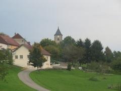 Eglise Saint-Laurent - Français:   Vue large.