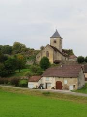 Eglise Saint-Laurent - Français:   Vue depuis le centre de Saint-Laurent.