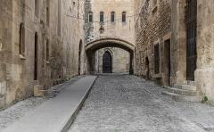 Ancien archevêché et ses abords - English:   Passage de l\'Ancre in the Archbishops Palace in Narbonne, Aude, France