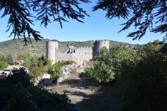 Ruines du château - Français:   Château de Villerouge-Termenès