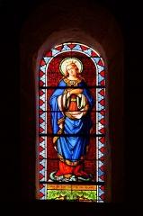 Eglise Saint-Martin -  Inmaculate conception in the St Martin's parish church on Aujargues,  Gard , France
