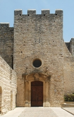 Eglise Saint-Laurent - Français:   France - Gard - Saint-Laurent-des-Arbres - Église Saint-Laurent