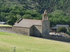 Eglise Saint-Fructueux - Français:   Eglise de Llo, Pyrénées-Orientales, France
