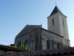 Eglise Saint-Martin du Petit-Niort - Français:   église romane 11-12ème siècle