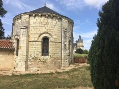 Eglise Notre-Dame - English:   Apse of the Saint-Paul de Coussay church