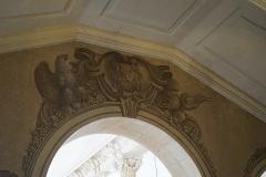 Hôtel de ville - Français:   détail de l'hotel de ville de Nancy, escalier.