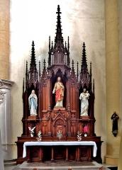 Abbaye - Français:   Autre chapelle dans l\'église de Remiremont. Vosges