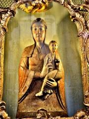 Abbaye - Français:   Notre-Dame du Trésor. Eglise de Remiremont. Vosges
