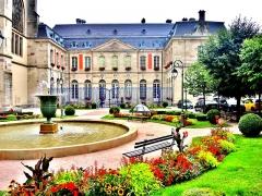 Ancien palais abbatial, hôtel de ville - Français:   Palais abbatial de Remiremont. Vosges
