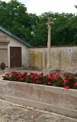 Croix - Français:   Calvaire, rue du Tahon à Vroville (88)
