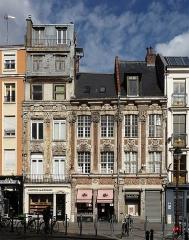 Immeubles - Français:   Maisons, 6 et 8 rue Esquermoise à Lille.