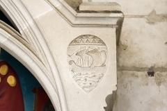 Eglise Saint-Nicolas - Français:   Monument dédié à Monseigneur Félix Fournier (1803-1877), évêque de Nantes. Basilique Saint-Nicolas. (Nantes, Loire-Atlantique, Pays de la Loire, France)