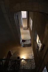 Hôtel Villetreux - Français:   Cage d'escalier sud de l'Hôtel Villetreux à Nantes (44).
